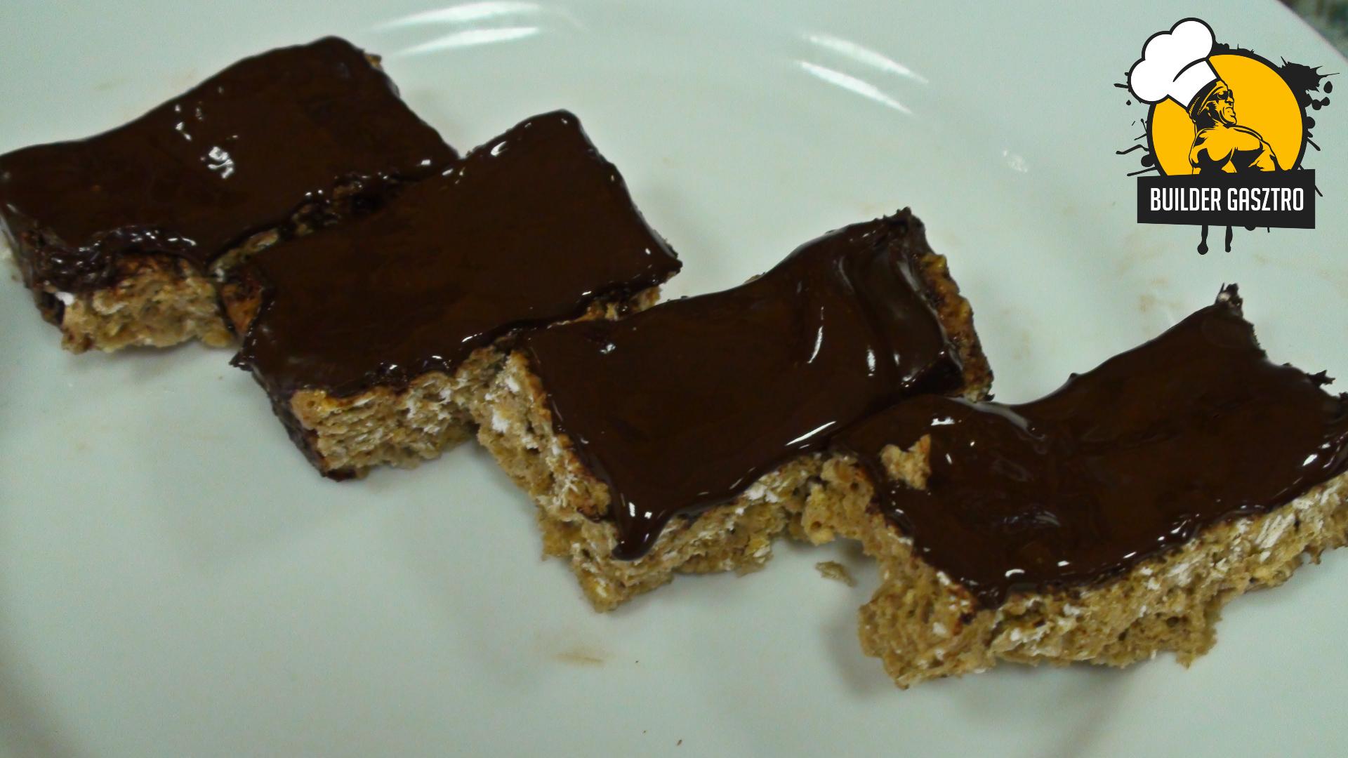 Zabos-csokis szelet