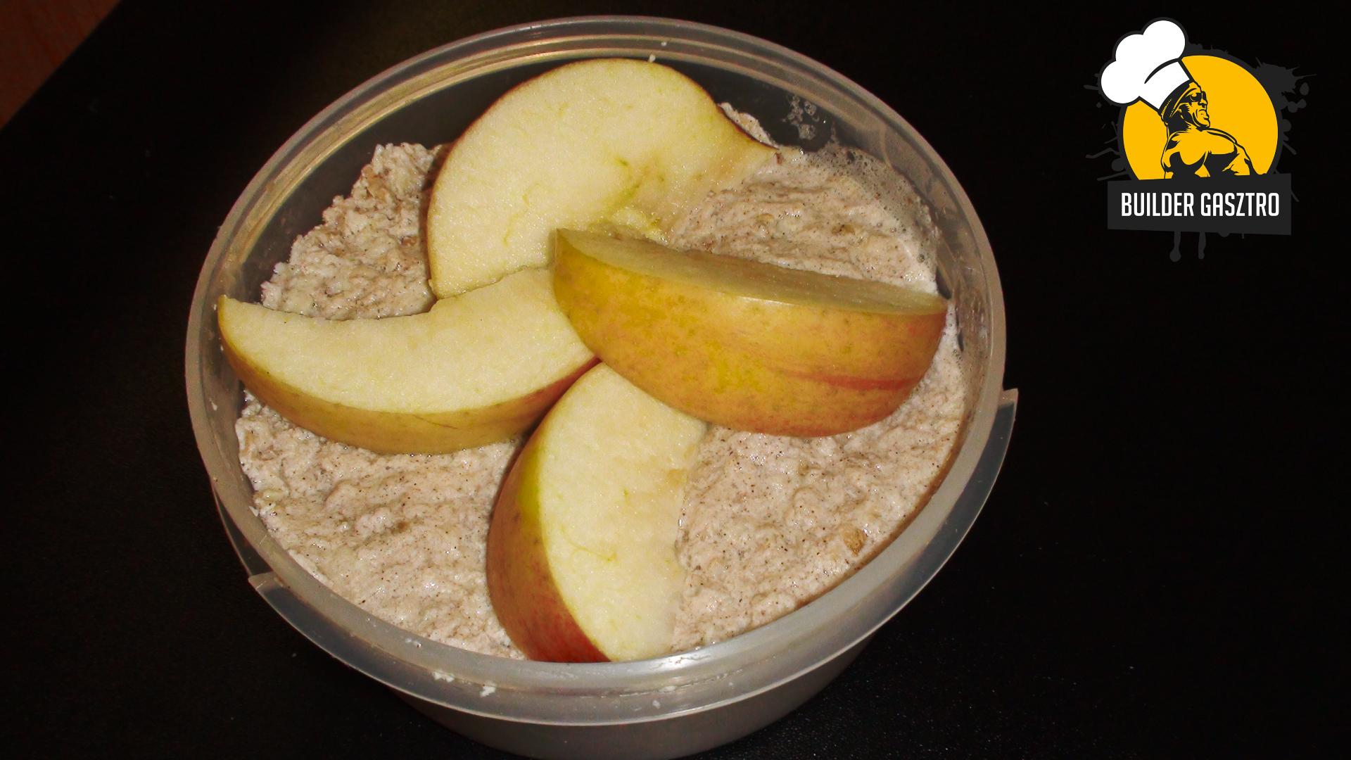 Almás-zabos reggeli