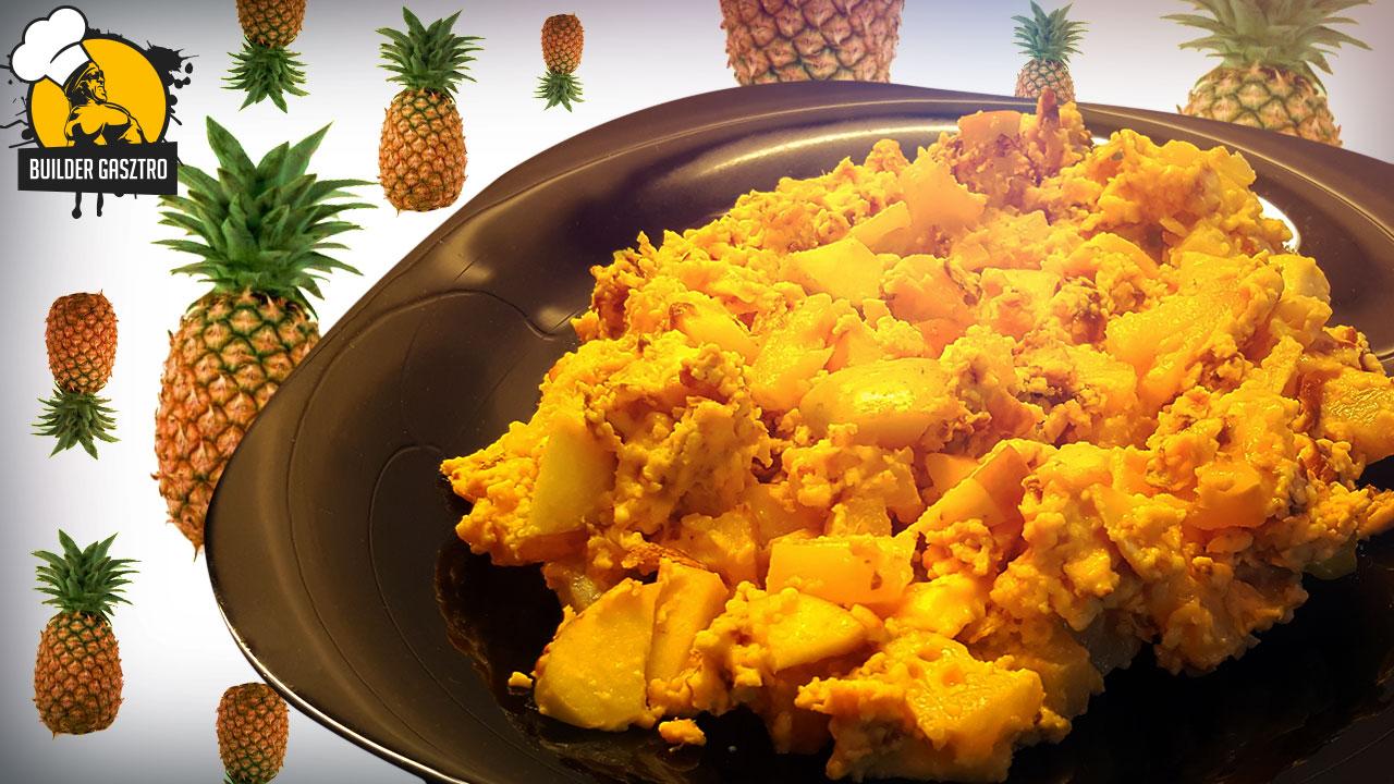Proteines-gyümöcsös reggeli recept