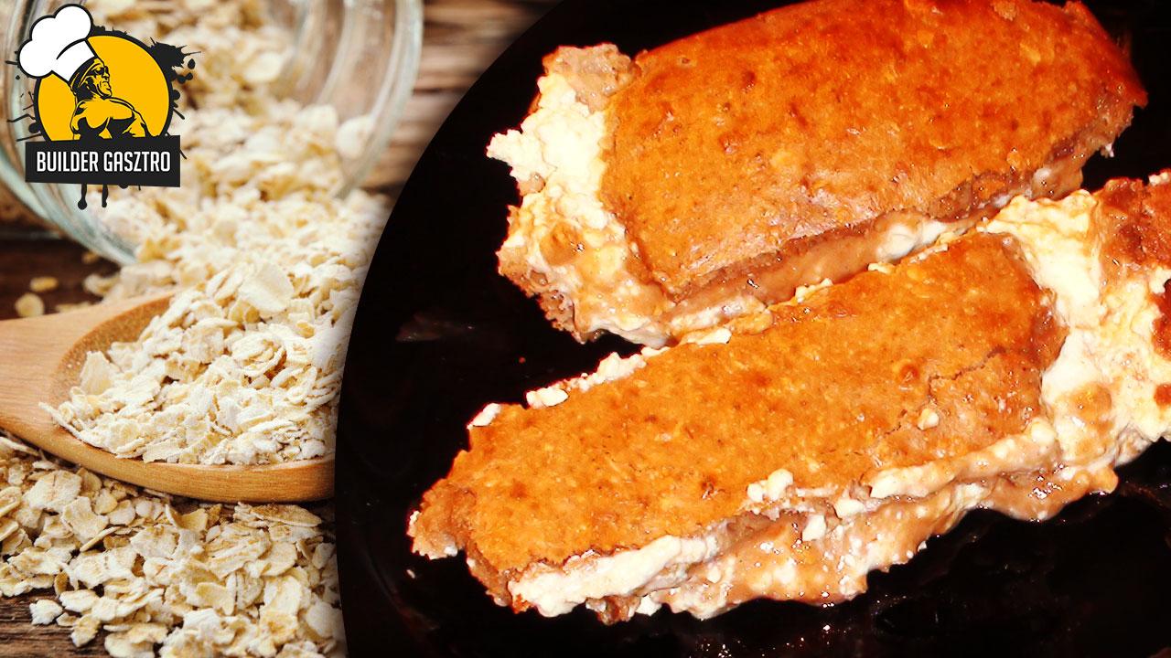 Zabos-túrós süti