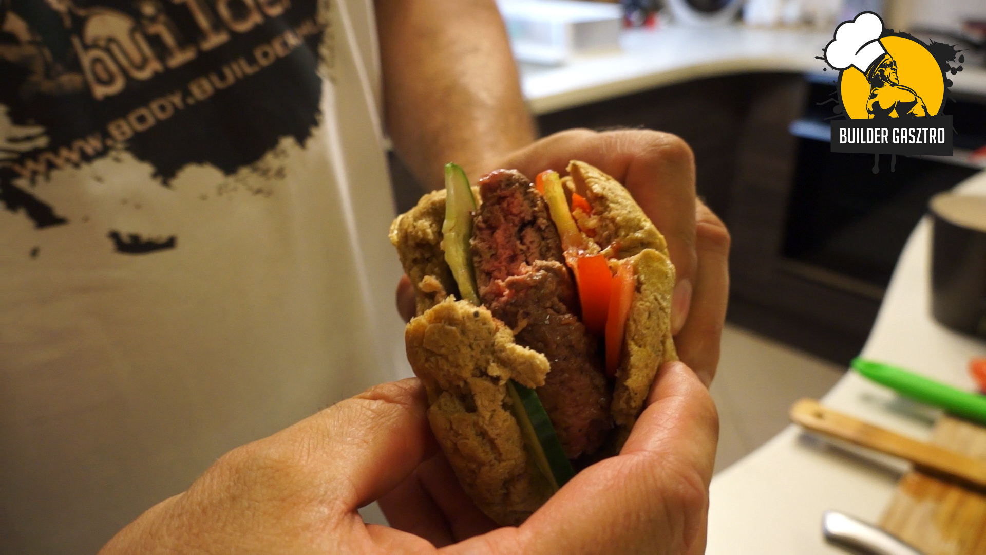 Szénhidrátmentes burger